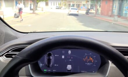 Next autopilot update: Pedestrians on Tesla screens can now walk properly