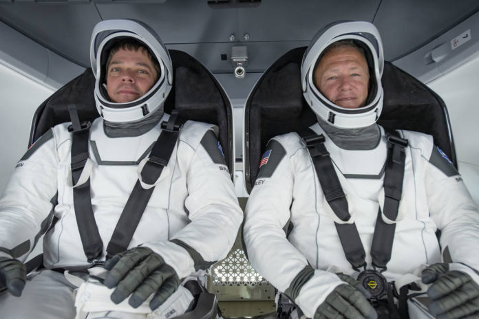 SpaceX, who are the astronauts Rob Behnken and Doug Hurley who go to the ISS today, 27 May 2020