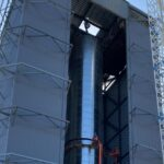 SpaceX is nearing completion of its first massive Starship test rocket booster